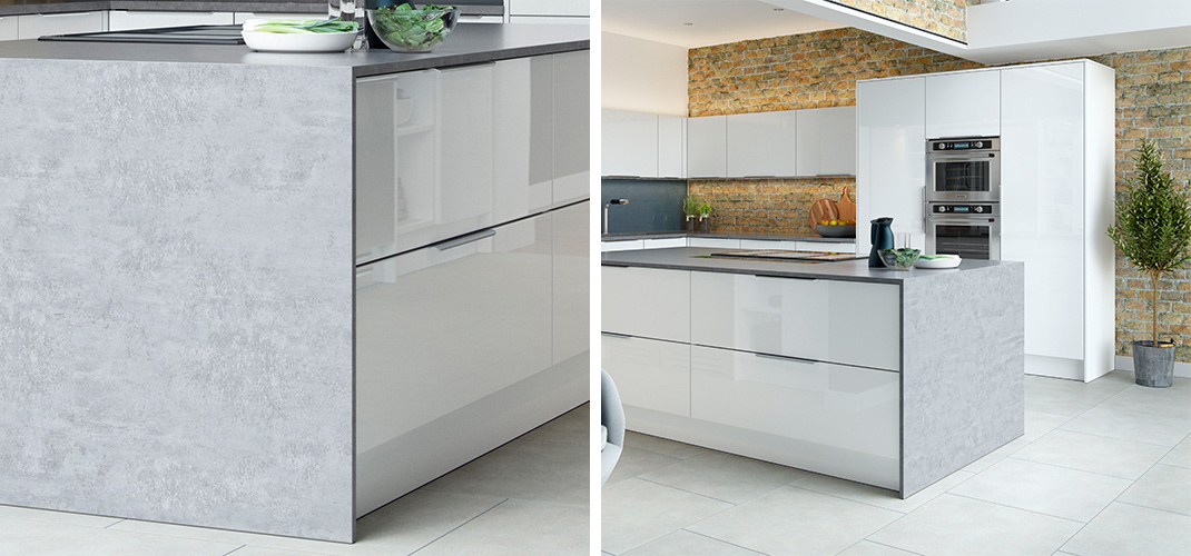 Our Napoli Gloss Kitchen Is A Contemporary Design Showing Off The Height Of  Fashion With The Slab Styled, Lacquered Gloss Finish.