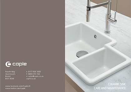 Caple Sink Care Guide