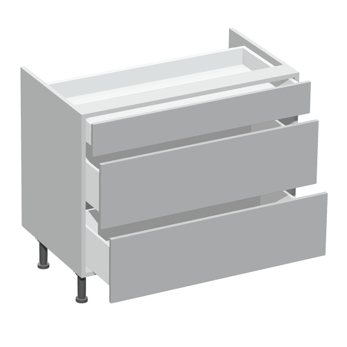 3 Drawer Hob Base Type F
