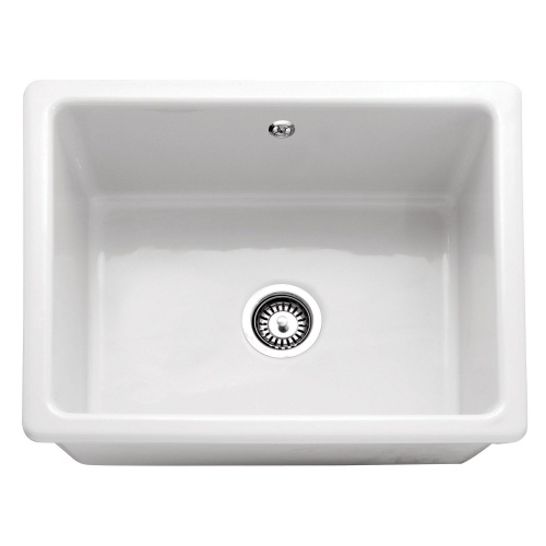 Caple Cheshire - Single Bowl - Ceramic - Inset / Undermount