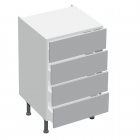 4 Drawer Base Type B