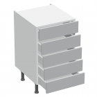 5 Drawer Base Type C