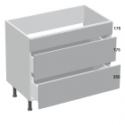 3 Drawer Sink Base Type D